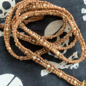 Chan Luu Jewelry - Chan lu luu bracelet 5 wrap tan beads